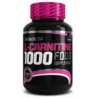 Л-Карнитин Biotech USA L-Carnitine 1000 mg (60 капсул.)