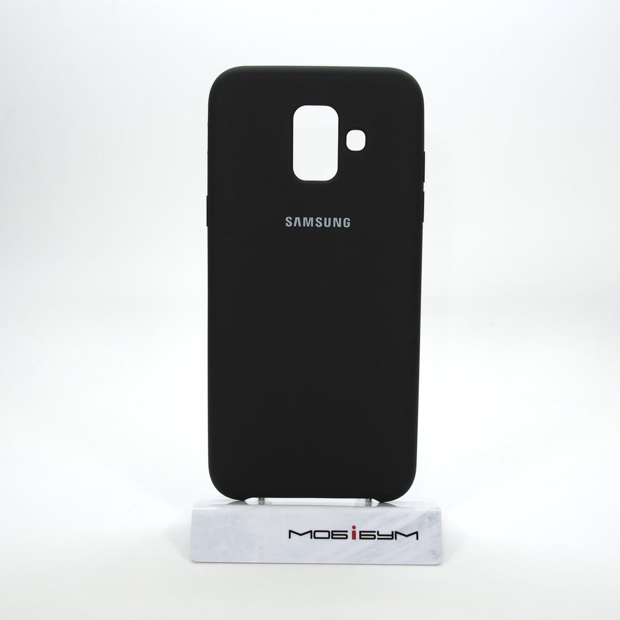 Чехол Original Soft Samsung Galaxy A600 A6 2018 black
