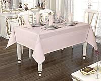 Скатертина 160х220 Jackline Pano Linen Rose 9886-6