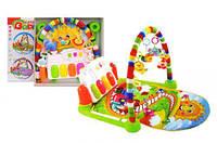 Килимок дитячий з брязкальцями і педалями (коробка) 033 р.49*52*9см