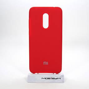 Чехол Original Soft Xiaomi Redmi 5 Plus red, фото 2