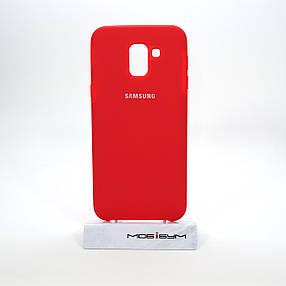 Чехол Original Soft Samsung Galaxy J600 red, фото 2