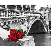 Картина своими руками по номерам Встреча у моста Риальто 40х50см, С Коробкой