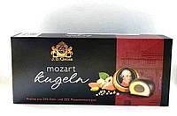Марципановые конфеты «Mozart Kugeln» J.D. Gross в темном шоколаде 200 г. , фото 1