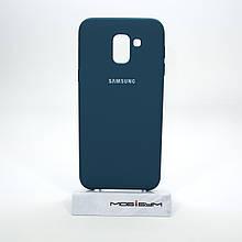 Чехол Original Soft Samsung Galaxy J600 dark blue