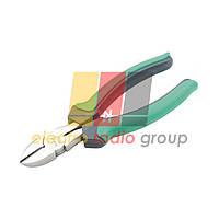 Кусачки Pro'sKit  1PK-067DS, діагональні, мідний дріт до 2,6 мм, 165 мм