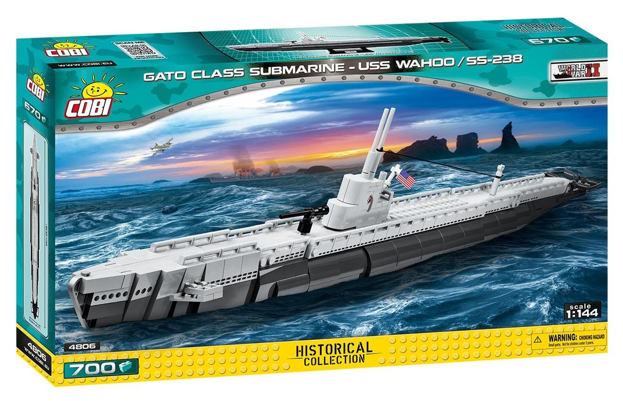 Конструктор Подводная лодка Ваху (SS-238) COBI Small Army WWII (COBI-4806)
