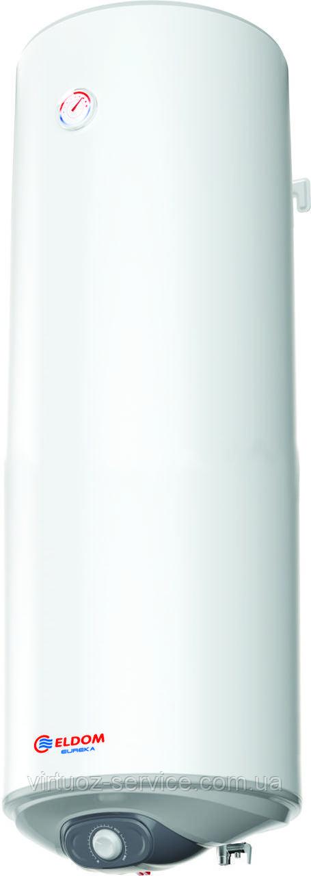 Бойлер электрический Eldom Eureka 80 SLIM 2x1.0 kw (WV08039D) (объем 80 л)