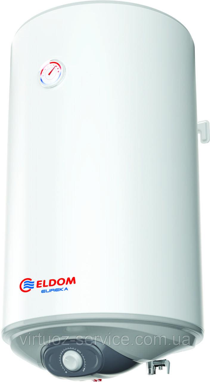 Бойлер электрический Eldom Eureka 80 2x1.0 kW (WV08046D) (объем 80 л)