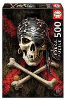 """Пазл """"Пиратский череп"""" 500 элементов Educa (EDU-17964)"""