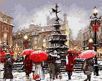 """Картины по цифрам """"В ожидании Рождества"""" 40х50см, С Коробкой"""