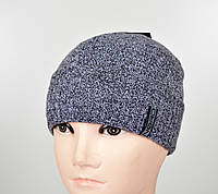Мужская шапка на флисе S-1801 березка, фото 1