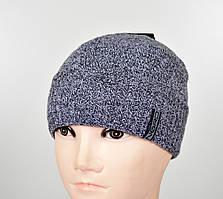 Мужская шапка на флисе S-1801 березка
