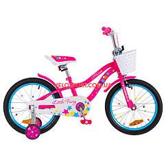 Детский велосипед Formula Alicia 18 дюймов розовый