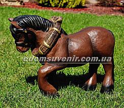 Садовая фигура Лошадка с телегой, фото 2