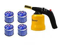 Газовий паяльник GEKO G20071 + G20075, фото 1