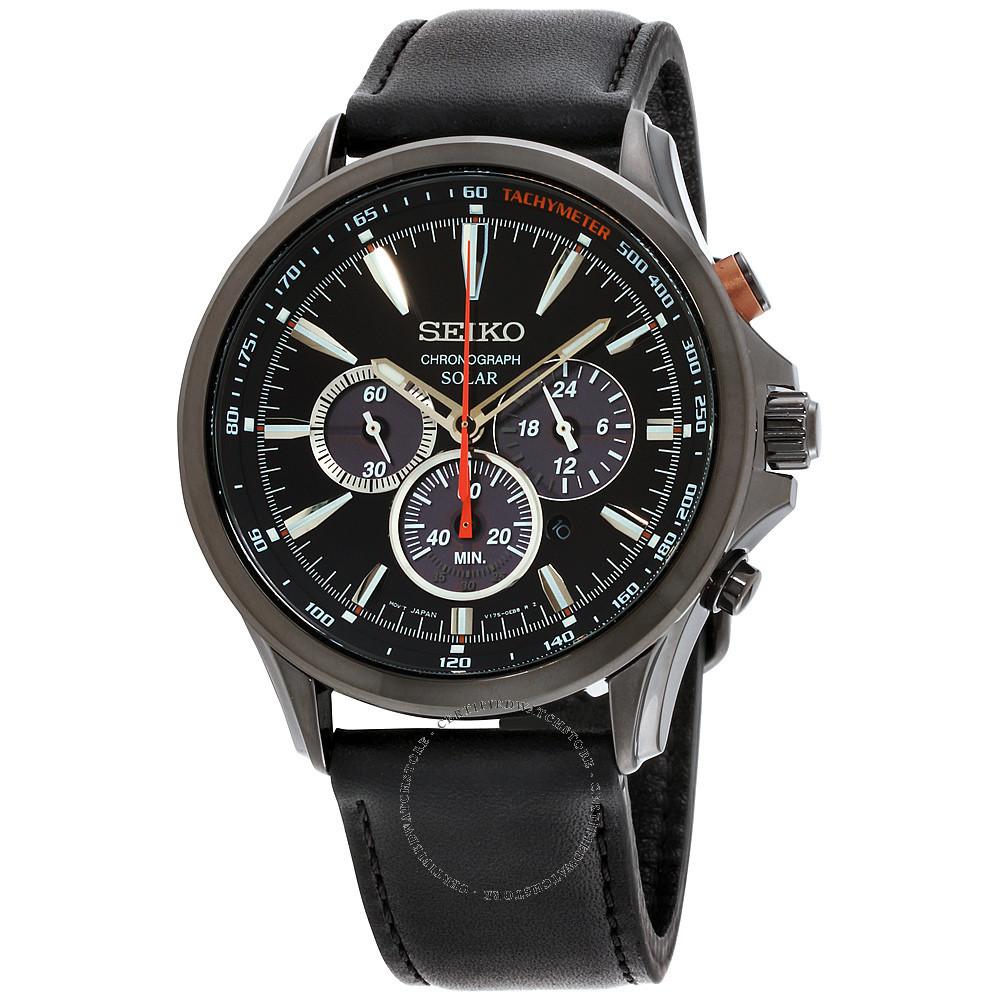 Часы Seiko Chronograph SSC639 SOLAR V175