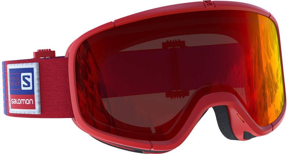 Горнолыжная маска Salomon four seven red/univ. mid red (MD)