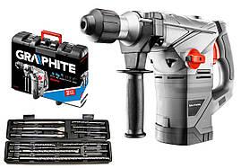 Перфоратор GRAPHITE 58G862 + набор из 12 долота и долота SDS Plus