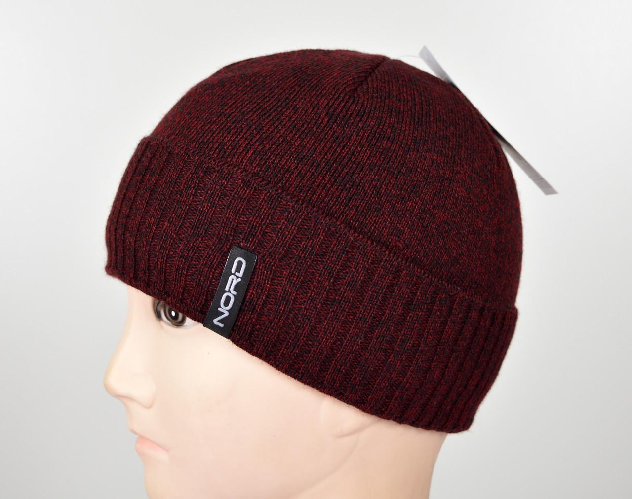 Мужская шапка Nord S-1803 Бордо