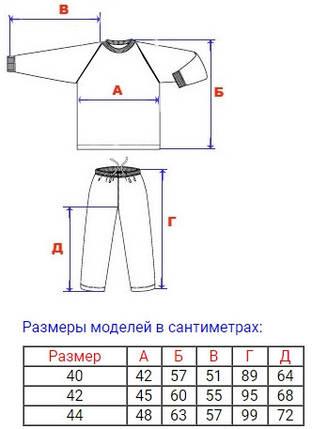 Пижама подростковая Зебра, фото 2