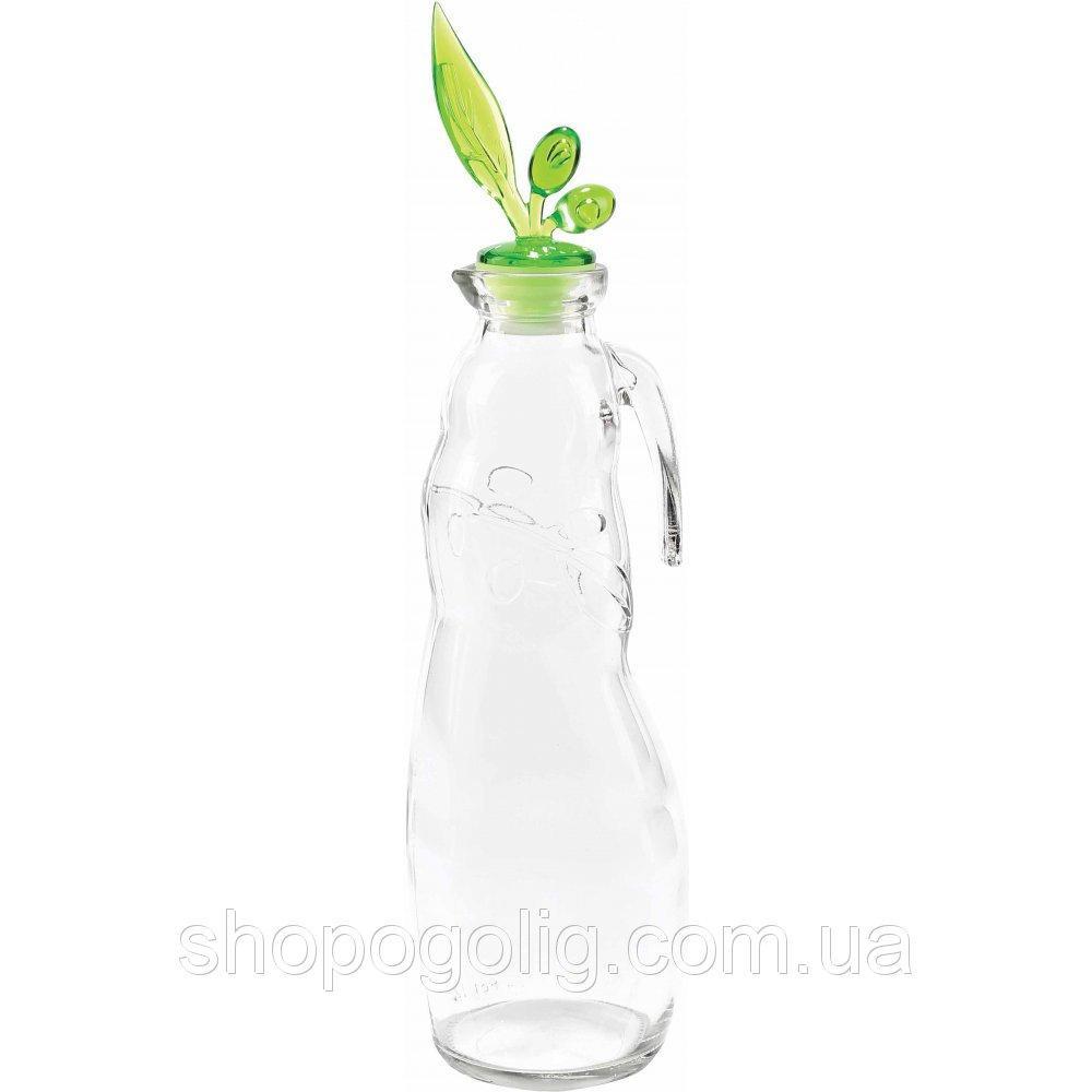 Пляшка для олії скляна прозора SWAN 1 л Miradan
