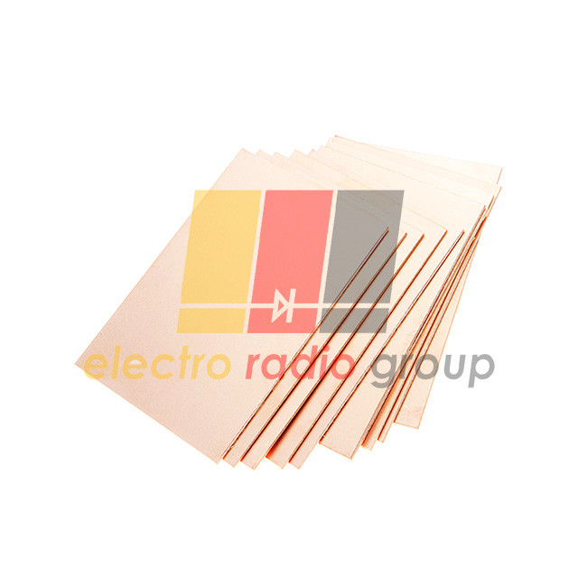 Текстолит фольгир.двухстор. 1мм, 210 х 300 мм(А4)