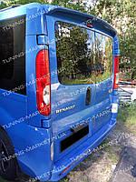 Спойлер для Renault Trafic (Две двери), Козырек Рено Трафик