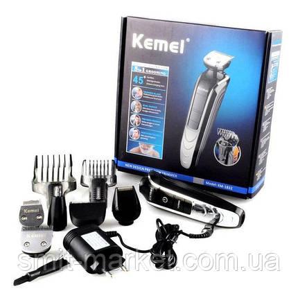 Стайлер Kemei KM 1832 набор для стрижки волос и бороды, фото 2