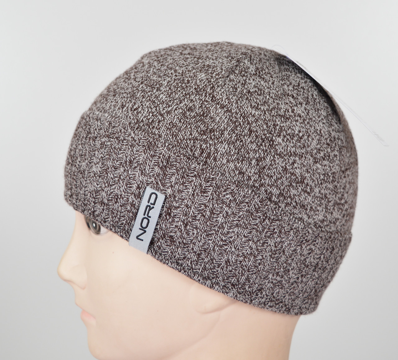 Мужская шапка Nord S-1803 коричневый