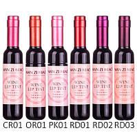 Тинт блеск для губ Man Zi Mao wine lip tint №LS021