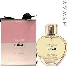 Fragrance World - Change de Canal Eau Fresh EDP 100ml парфюмерная вода женская