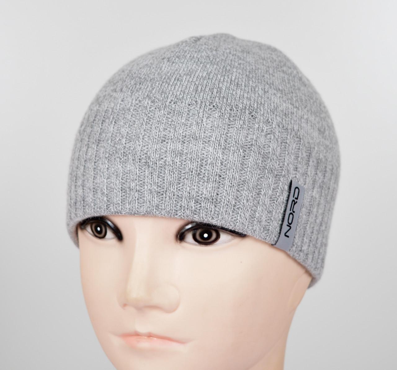 Мужская шапка Nord S-1801 св.серый