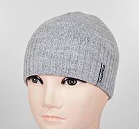 Мужская шапка Nord S-1801 св.серый, фото 1