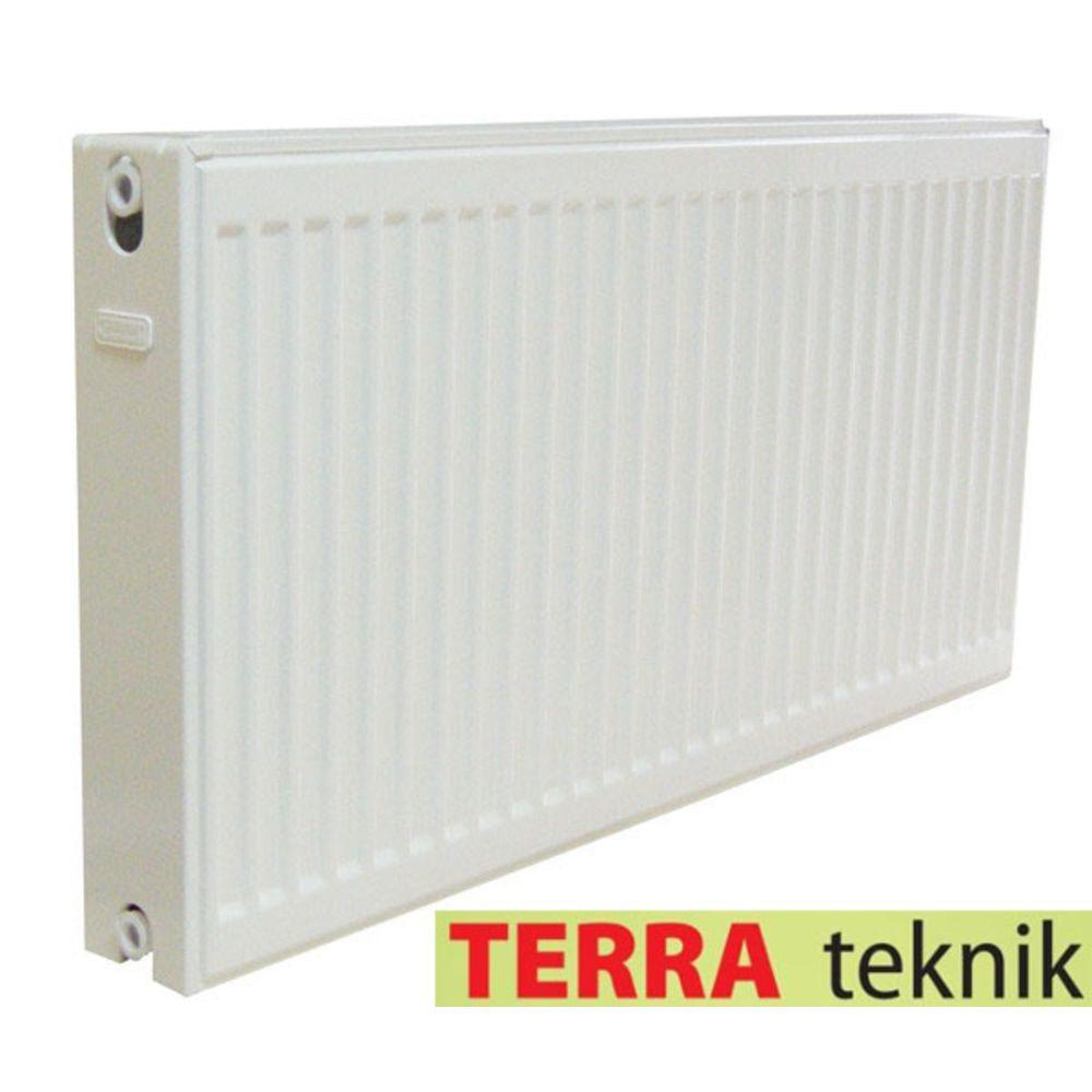 Радиатор стальной 11 тип 500H x 2200L - Боковое подключение TERRA TEKNIK