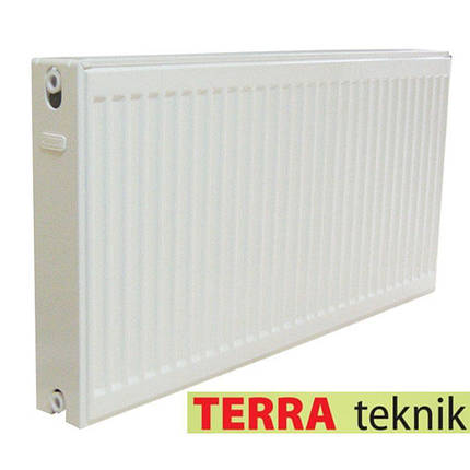 Радиатор стальной 22 тип 300H x 1300L - Боковое подключение TERRA TEKNIK, фото 2