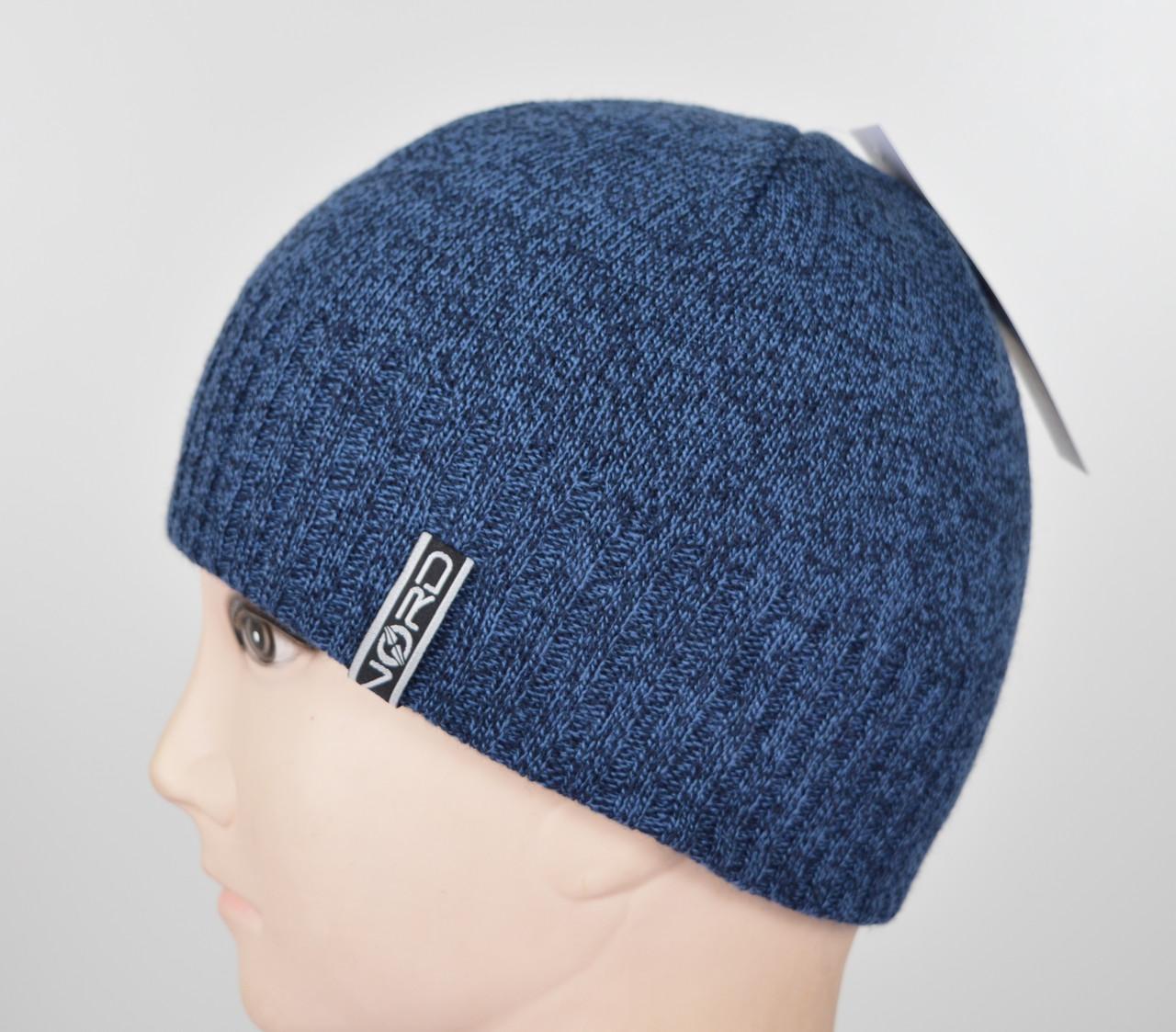 Мужская шапка Nord S-1801 джинс