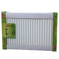 Радиатор стальной 22 тип 500H x 1600L - Нижнее подключение TERRA TEKNIK
