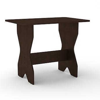 Стол кухонный КС-1 венге темный Компанит