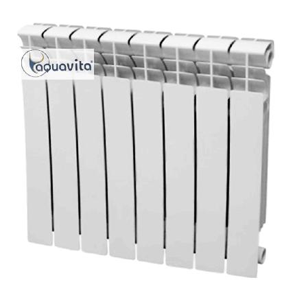 Радиатор биметаллический BIM 500/80 AQUAVITA D6, фото 2