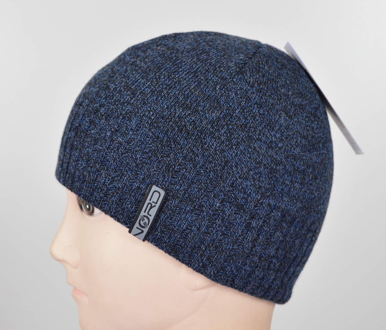 Мужская шапка Nord S-1801 т.джинс