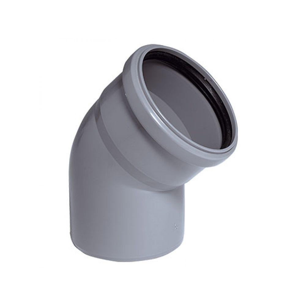 Колено 110 х 45 внутренняя канализация , OSTENDORF