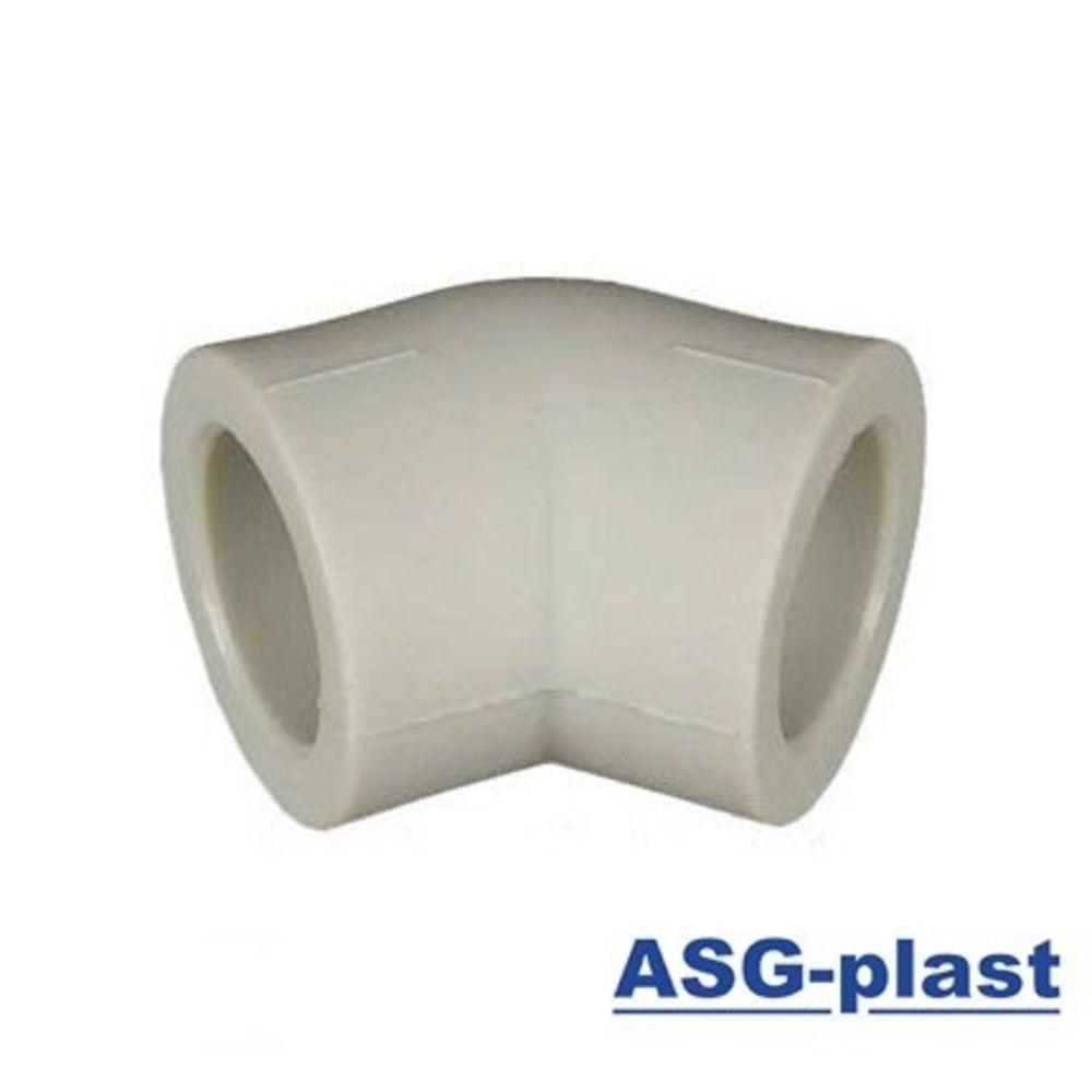 Колено ASG 45*х90