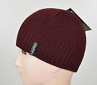 Мужская шапка Nord S-1801 бордо, фото 1