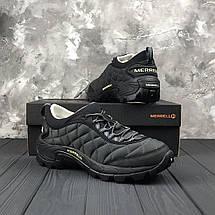 Зимние мужские кроссовки Merrell Ice Cap Black/Grey, фото 3