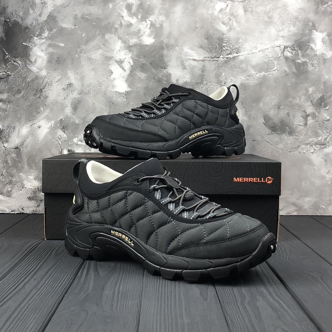 Зимние мужские кроссовки Merrell Ice Cap Black/Grey