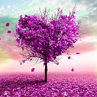 Картина по номерам своими руками Дерево любви 40х50см, С Коробкой