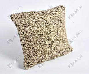 Подушка декоративна в'язана