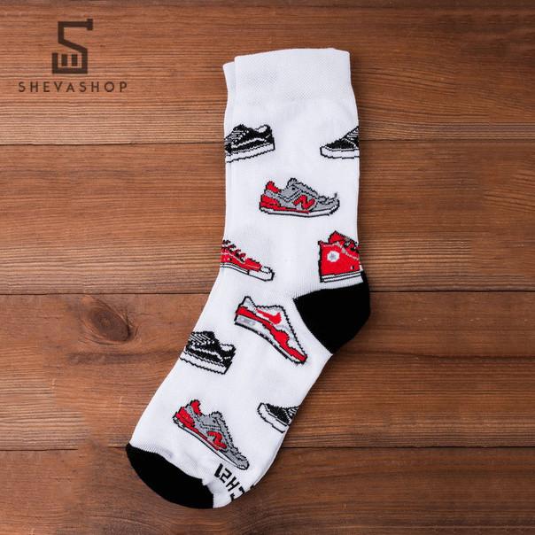Длинные носки PUNCH - Sneakermania белые