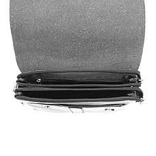 Мужская сумка мессенджер 2 отделения DIWEILU 22х26х6 вертикальная  спилок м С1856-3ч, фото 2